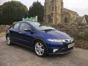 2009 (59) Honda Civic 2.2 i-CTDi EX SATNAV FULL LEATHER HEATED SEATS PAN ROOF For Sale In Ibstock, Leicestershire