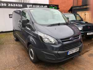 2013 (63) Ford Transit Custom 2.2 TDCi 100ps Low Roof Van For Sale In Ibstock, Leicestershire