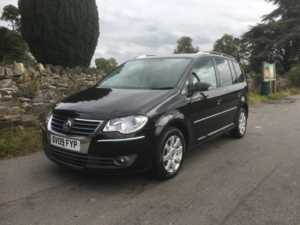 2009 (09) Volkswagen Touran 2.0 TDI SE 7 SEATS REAR SENSORS CRUISE CONTROL For Sale In Ibstock, Leicestershire