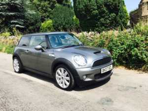 2007 (07) MINI HATCHBACK 1.6 Cooper S PANORAMIC SUNROOF HALF LEATHER For Sale In Ibstock, Leicestershire