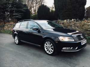 2014 (14) Volkswagen Passat 2.0 TDI Bluemotion Tech Executive DSG Auto SAT NAV FULL LEATHER FSH HEATED For Sale In Ibstock, Leicestershire