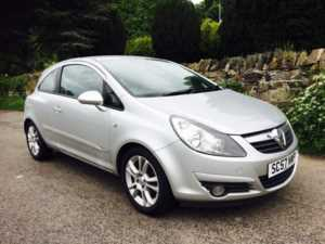 2007 (57) Vauxhall Corsa 1.2i 16V SXi [AC] ALLOYS AUX POINT AIRCON For Sale In Ibstock, Leicestershire