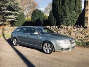 2007 (07) Audi A6 2.0 TDI DPF S Line Multitronic Auto SATNAV MEDIA HALF LEATHER For Sale In Ibstock, Leicestershire