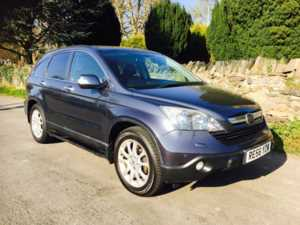 2007 (56) Honda CR-V 2.2 i-CTDi EX FULL LEATHER FSH SATNAV HEATED SEATS REVERSING CAMERA FOLDING For Sale In Ibstock, Leicestershire