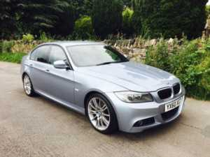 2010 (60) BMW 3 Series 320d M Sport Business Edition SATNAV FULL LEATHER BLUETOOTH For Sale In Ibstock, Leicestershire