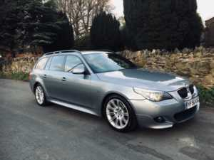 2006 (56) BMW 5 Series 530d M Sport Auto SAT NAV,BLACK LEATHER, 6MTH WARRANTY For Sale In Ibstock, Leicestershire
