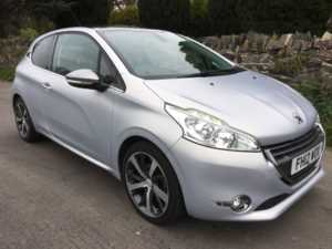 2012 (12) Peugeot 208 1.6 VTi Ice Velvet SATNAV PANORAMIC ROOF USB AUX For Sale In Ibstock, Leicestershire