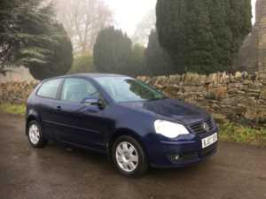 2007 (07) Volkswagen Polo 1.4 S 80 ALLOYS AIRCON REAR PARKING SENSORS For Sale In Ibstock, Leicestershire