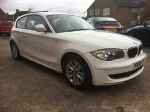 2010 (59) BMW 1 Series 118d ES ALPINE WHITE SERVICE HISTORY ALLOYS REAR SENSORS ALLOYS For Sale In Ibstock, Leicestershire