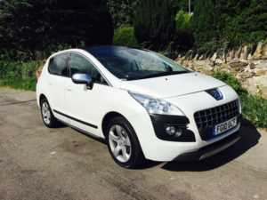 2010 (10) Peugeot 3008 1.6 HDi Exclusive HEADS UP DISPLAY/PAN ROOF For Sale In Ibstock, Leicestershire