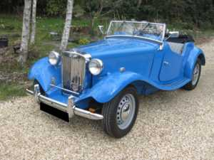 1950 MG TD For Sale In Landford, Wiltshire