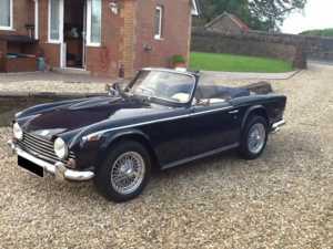 1968 Triumph TR5 For Sale In Landford, Wiltshire