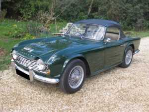 1962 Triumph TR4 For Sale In Landford, Wiltshire