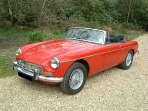 1973 MG B For Sale In Landford, Wiltshire