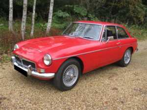 1969 MG CGT For Sale In Landford, Wiltshire