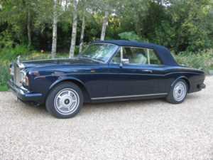 1980 Rolls-Royce Corniche For Sale In Landford, Wiltshire
