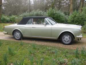 1985 Bentley Continental CONVERTIBLE For Sale In Landford, Wiltshire