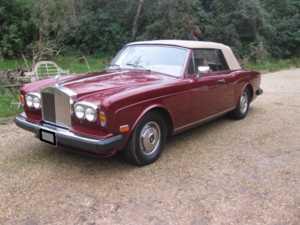 1983 Rolls-Royce Corniche CONVERTIBLE AUTOMATIC For Sale In Landford, Wiltshire