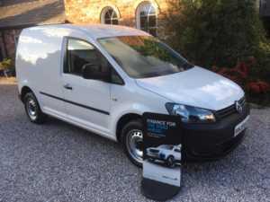 2015 15 Volkswagen CADDY C20 STARTLINE TDI Short Wheel Base Van. 5 Doors Panel Van