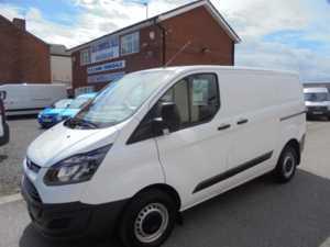 2015 64 Ford TRANSIT CUSTOM 290 ECO-TE L1H1 Short Wheel Base Van. 5 Doors Panel Van