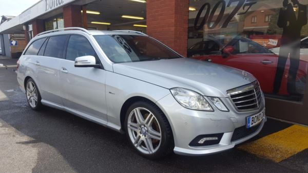 2010 (10) Mercedes-Benz E Class E250 CDI BlueEFFICIENCY Sport Tip Auto (7 Speed) 201bhp For Sale In Swansea, Glamorgan