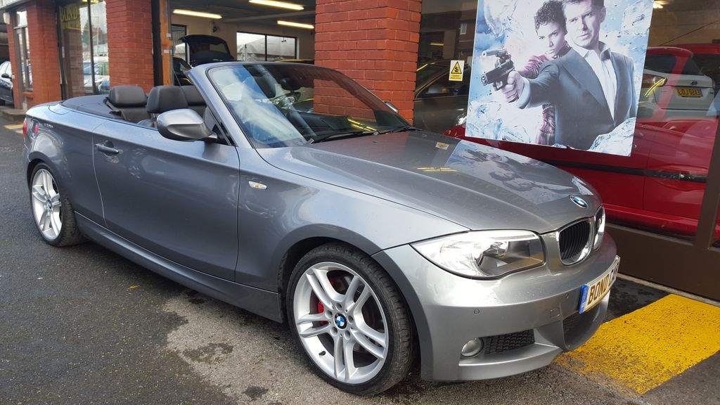 2011 (11) BMW 1 Series 123d M Sport Convertible 201 BHP Diesel For Sale In Swansea, Glamorgan