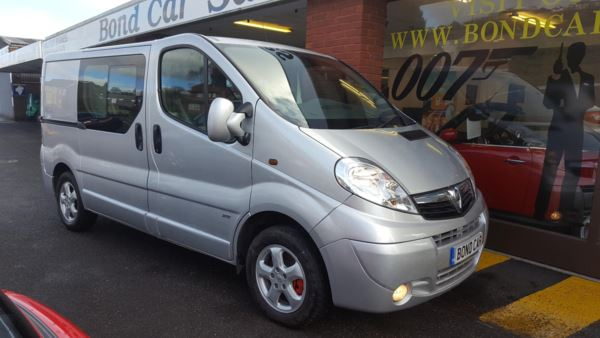 2012 (62) Vauxhall Vivaro 2.0CDTI [115PS] Doublecab 2.9t Euro 5 Sportive For Sale In Swansea, Glamorgan