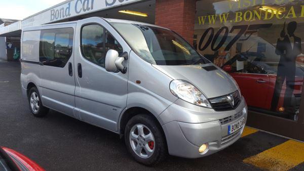 2012 (62) Vauxhall Vivaro 2.0CDTI [115PS] Doublecab 2.9t Euro 5 Sportive For Sale In Swansea, Glamorgan