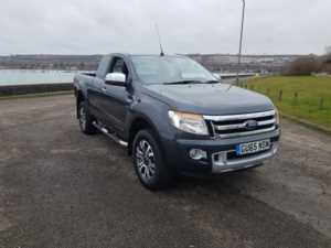 2015 (65) Ford Ranger Super Cab Limited 2.2 TDCi 150 4WD For Sale In Portsmouth, Hampshire
