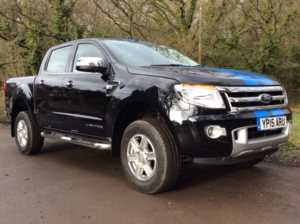 2015 (15) Ford Ranger Pick Up Double Cab Limited 2.2 TDCi 150 4WD For Sale In Tunbridge Wells, Kent