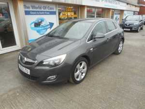 2012 (12) Vauxhall Astra 1.6 i VVT 16v SRi 5dr For Sale In Pontefract, West Yorkshire