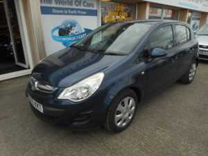 2013 (13) Vauxhall Corsa 1.3 CDTi ecoFLEX 16v Exclusiv 5dr (start/stop) For Sale In Pontefract, West Yorkshire