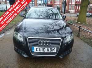 2010 (10) Audi A3 1.6 TDI Sport 3dr *FACE LIFT MODEL*12 MONTHS WARRANTY FR FINANCE AVAILABLE For Sale In Leicester, Leicestershire