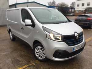2017 (67) Renault Trafic SL27 1.6dCi 120ps Sport Nav Panel Van For Sale In Southampton, Hampshire