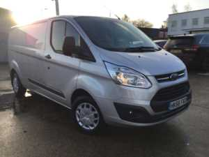 2016 (66) Ford Transit Custom 290 L2 H1 2.0TDCi 130ps 6-spd Trend Panel Van For Sale In Southampton, Hampshire