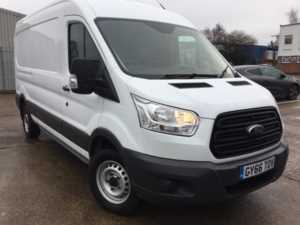 2017 (66) Ford Transit 350 L3 H2 2.2TDCi 125ps 6-spd RWD Base Panel Van For Sale In Southampton, Hampshire