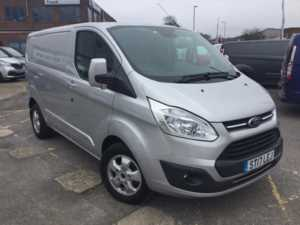 2017 (17) Ford Transit Custom 290 L1 H1 2.0TDCi 130ps 6-spd Limited Panel Van For Sale In Southampton, Hampshire