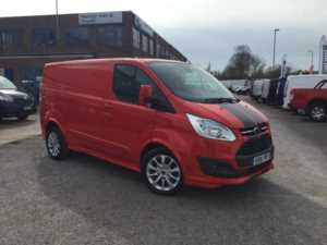 2016 (16) Ford Transit Custom 290 L1 H1 2.2TDCi 155ps 6-spd Sport Panel Van For Sale In Southampton, Hampshire