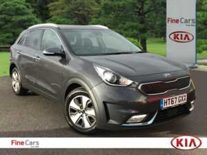 2018 (67) Kia Niro 1.6 GDi PHEV 3 5dr DCT Automatic For Sale In Lee on Solent, Hampshire