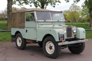 1957 Land Rover Series 1 2.0 PETROL 2WD / 4WD SOFT-TOP For Sale In Cheltenham, Gloucestershire