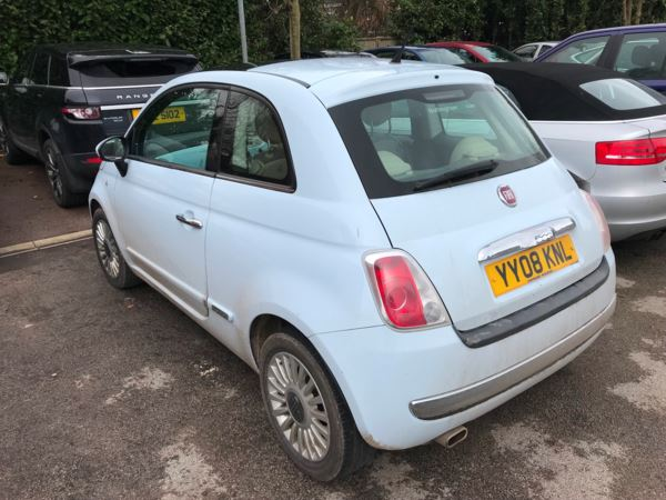 2008 (08) Fiat 500 1.3 Multijet Lounge 3dr For Sale In Newark, Nottinghamshire