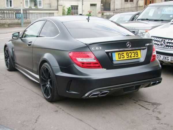 used mercedes c class c63 amg black series sold more stock required 2 doors coupe for sale in. Black Bedroom Furniture Sets. Home Design Ideas