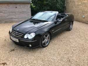 2007 (57) Mercedes-Benz CLK CLK63 2dr Tip Auto For Sale In Box, Wiltshire