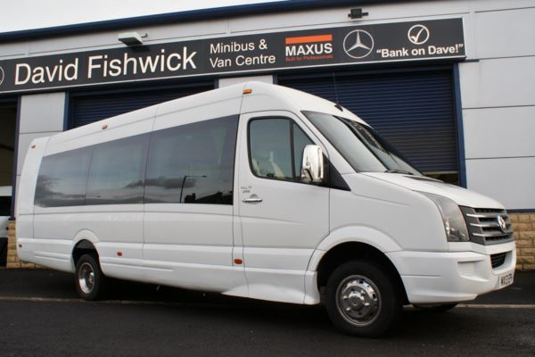 2013 (13) Volkswagen Crafter CR50 143 Super Extended 17 Seat Luxury Minicoach For Sale In Colne, Lancashire