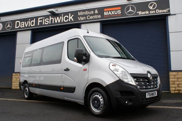Renault Master DCi 145 Energy 17 Seat Minibus With AC And Metallic Paint For Sale In Colne, Lancashire