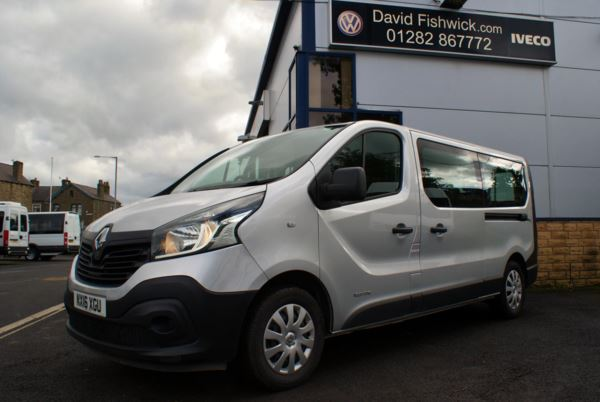 2016 (16) Renault Trafic LL29 DCi125 Energy Business 9 Seat Minibus For Sale In Colne, Lancashire