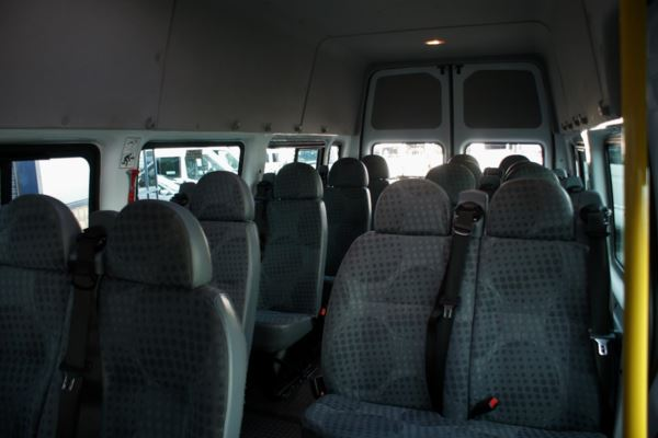 2007 (07) Ford Transit T410 100 High Roof 17 Seat Minibus For Sale In Colne, Lancashire