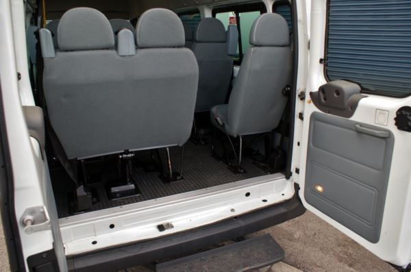 2007 (7) Ford Transit T410 100 High Roof 17 Seat Minibus For Sale In Colne, Lancashire
