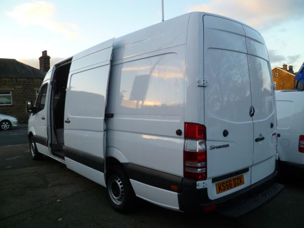 2007 (56) Mercedes-Benz Sprinter 311 CDi 3500 Panel Van For Sale In Colne, Lancashire