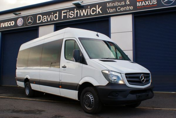 Mercedes-Benz Sprinter 516 CDi BlueEFFICIENCY 17 Seat Luxury Minicoach For Sale In Colne, Lancashire
